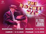 muzyka – The Rocket Man, a tribute to Sir Elton John 2020-12-04 19:00:00 Sala Ziemi